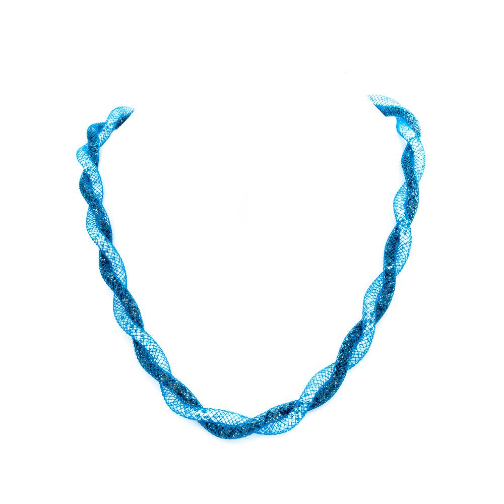 Girocollo-intrecciato-azzurro-Collezione-Infinito