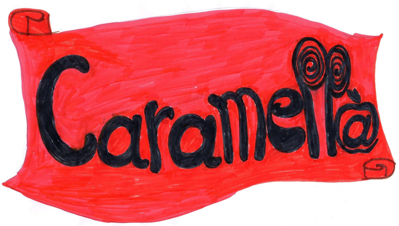 Bozzetto primo logo Caramella 2011