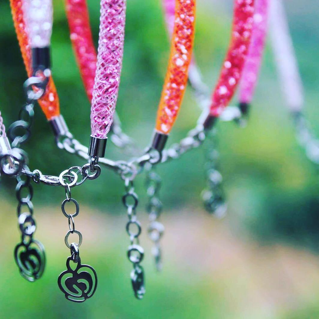 bracciali colorati argento 925 Caramella gioielli