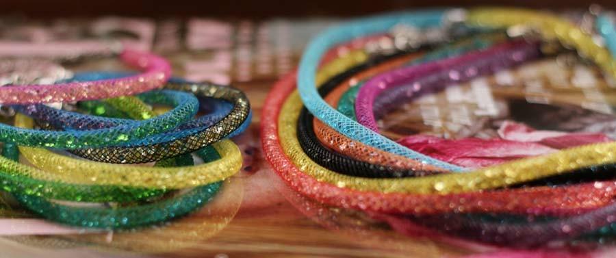 Vari colori gioielli Caramella in argento 925